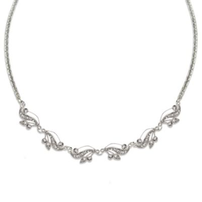 Crystal Imperial Anniversary Necklace