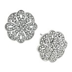 Bridal Art Deco Revival Eternal Earrings
