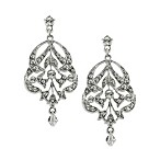 Imperial Touch Lantern Drop Earrings