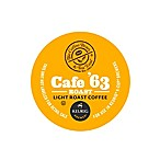 K-Cup® 16-Count Coffee Bean and Tea Leaf® Café '63 Light Roast Coffee