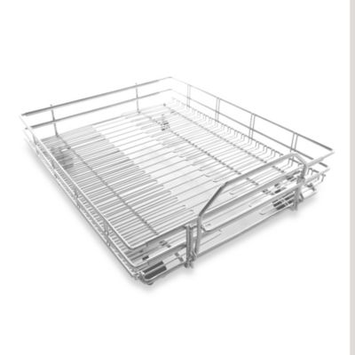 Expandable Pull-Out Shelf on Wheels