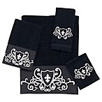 Avanti Ashbourne Towels in Black