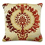 Marstella Square Toss Pillow in Garnet