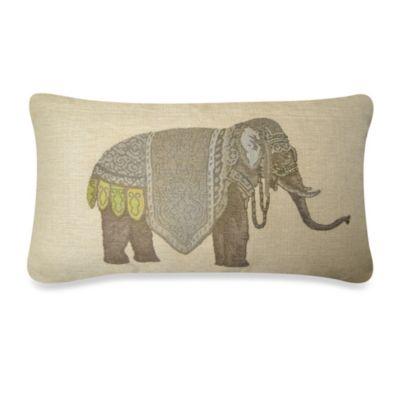 Olifant Oblong Throw Pillow