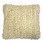 Jalendu Square Toss Pillow in Cream