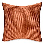 Wicker Toss Pillow in Rust
