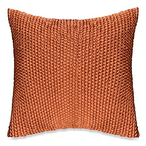 Throw Pillow Rust : Wicker Throw Pillow in Rust - Bed Bath & Beyond