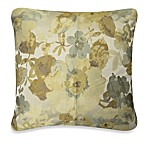 Floral Retreat Square Toss Pillow in Spa