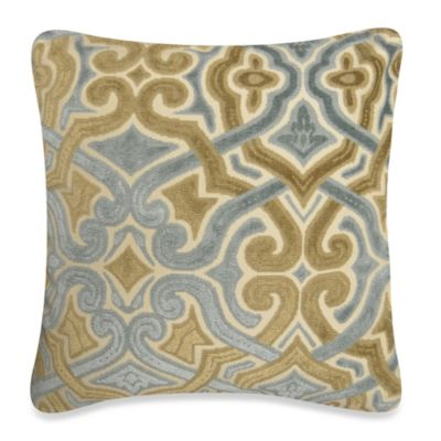 Cave Art Square Throw Pillow