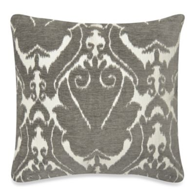 Tirrano Mika Square Throw Pillow in Grey