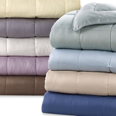Eucalyptus Origins™ Down Alternative King Blanket with Tencel® Cover in Sable