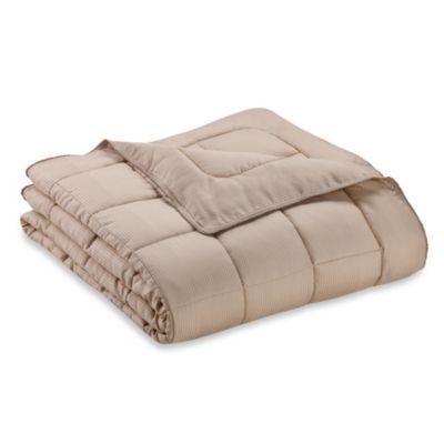 Eucalyptus Origins™ Down Alternative King Blanket with Tencel® Cover in Tan