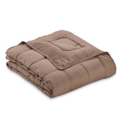 Eucalyptus Origins™ Tencel® Lyocell Cover Down Alternative King Blanket in Sable