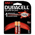 Duracell Quantum 2-Pack AAA Batteries