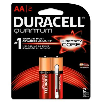 Duracell Quantum 2-Pack AA Batteries