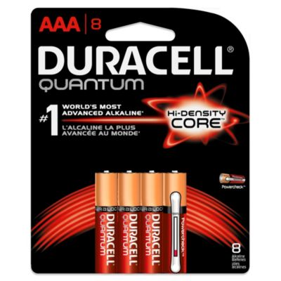 Duracell Quantum 8-Pack AAA Batteries