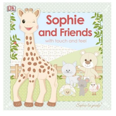 Sophie la girafe: Sophie and Friends Touch and Feel Book