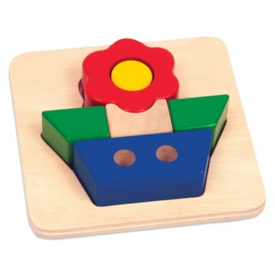 Guidecraft Flower Primary Puzzle