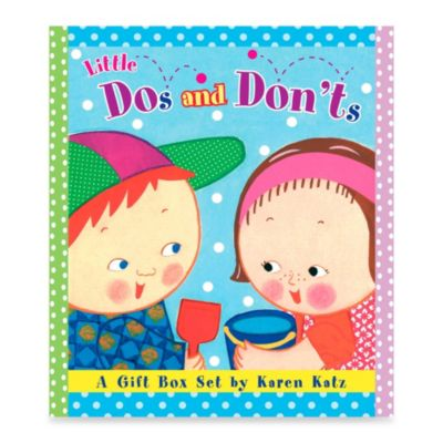 Little Do's & Don'ts: A Gift Box Set by Karen Katz