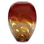 Evolution by Waterford® Red/Amber 11-Inch Ginger Vase