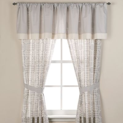 Real Simple® Savannah Window Valance