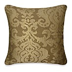 Mythical Medallion Square Toss Pillow in Cream