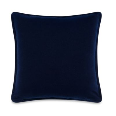 Kenneth Cole Reaction Home Mineral Square Toss Pillow in Indigo
