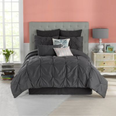 Anthology™ Whisper Full/Queen Comforter Set in Pewter