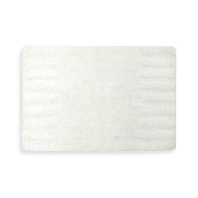 DKNY Highline Bath Rug in White