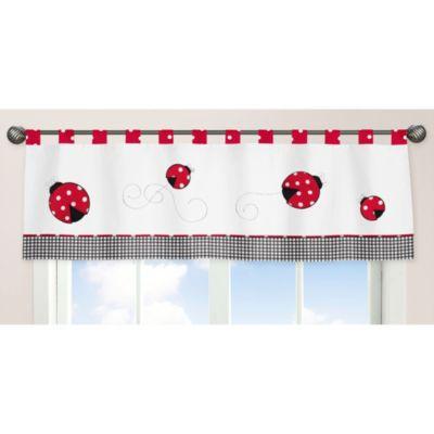 Ladybug Window Valance