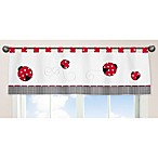 Sweet Jojo Designs Ladybug Window Valance