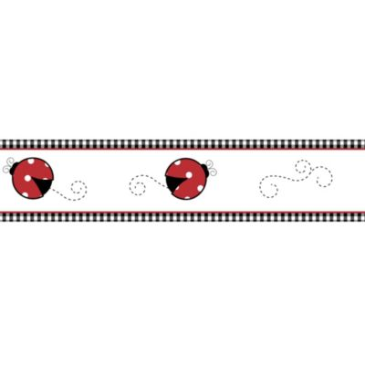 Sweet Jojo Designs Ladybug Wallpaper Borders