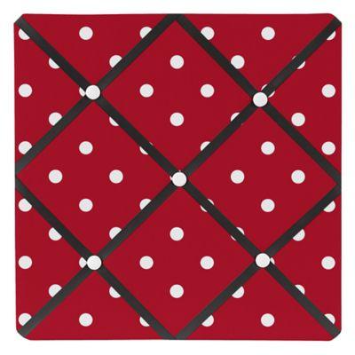Sweet Jojo Designs Polka Dot Ladybug Memo Board