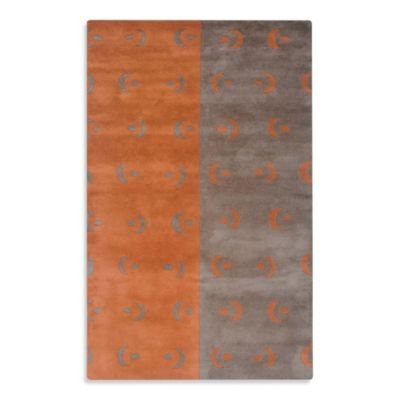 Orange Area Rugs