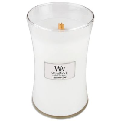 WoodWick® Island Coconut 22-Ounce Jar Candle