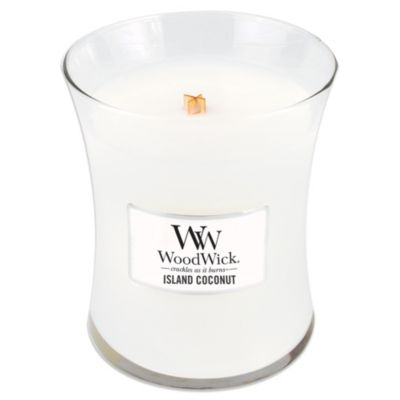 WoodWick® Island Coconut 10-Ounce Jar Candle