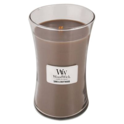 WoodWick® Sand & Driftwood 22-Ounce Jar Candle