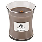 WoodWick® Sand & Driftwood 10-Ounce Jar Candle