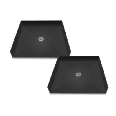 Tile Redi USA® Redi Free™ Barrier Free 42-Inch x 42-Inch Shower Pan with Center Drain