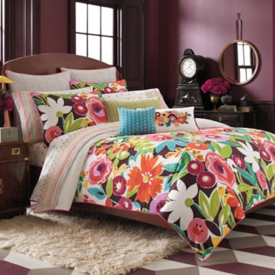 Collier Campbell Grandi Flora Twin Reversible Duvet Cover