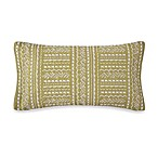 Collier Campbell Grandi Flora Oblong Toss Pillow in Green