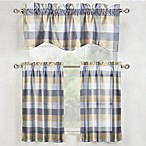 Mystic Plaid 56-Inch x 16-Inch Window Valance in Grey