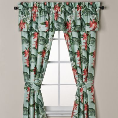 Tommy Bahama® Southern Breeze 84-Inch Window Panel Pair