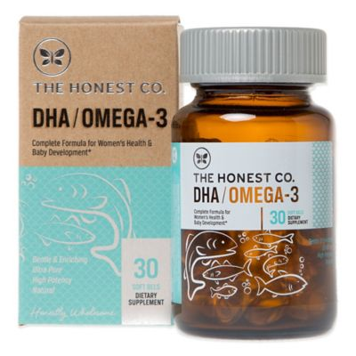 Honest® 30-Count DHA/Omega-3 Dietary Supplement Soft Gels