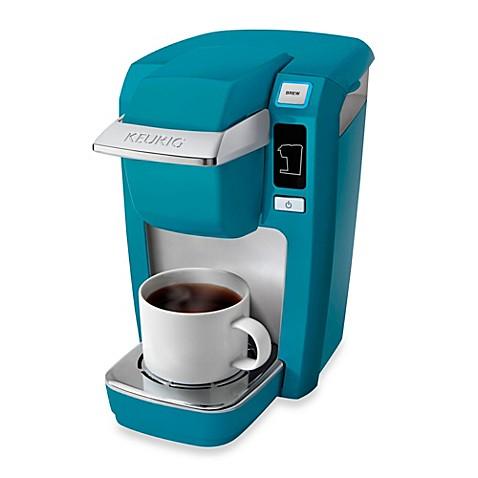 Keurig 174 K15 Mini Plus Brewing System In Aqua Blue Bed
