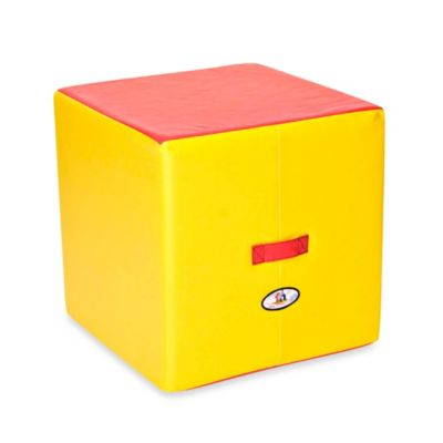 Foamcraft Foamnasium™ Large Block in Red/Yellow