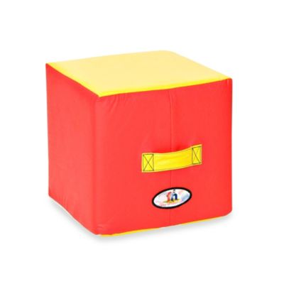 Foamcraft Foamnasium™ Medium Block in Red/Yellow