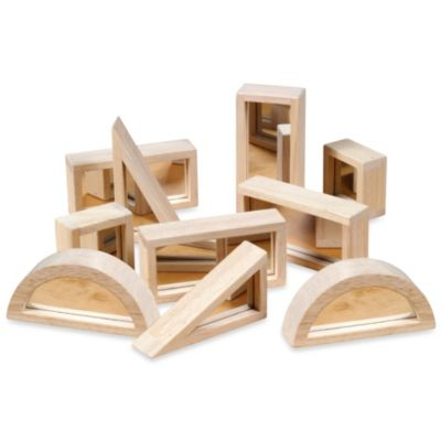 Guidecraft 10-Piece Mirror Blocks Set