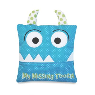 Tooth Fairy Pillow in Blue