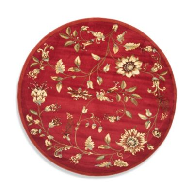Safavieh Red Rug Multi
